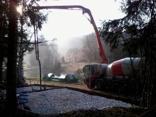 Baubeginn der Zuchthalle -2