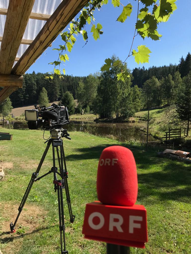 ORF Filmaufnahmen am 12. September 2018
